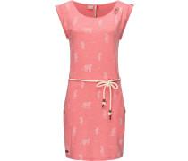 Jerseykleid ' Tag Tiger ' pink
