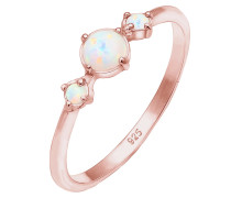 Ring 'Opal' rosegold