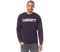 College Sweatshirt aubergine