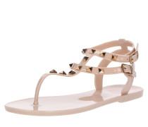 Sandale 'aurelie' nude