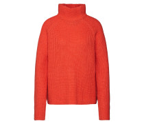 Pullover 'Knit Turtleneck' orangerot