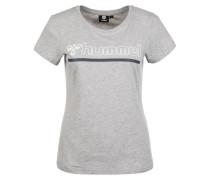 T-Shirt 'Perla' grau