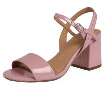 Sandalette mit Nietenbesatz rosa