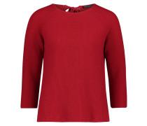 Basic-Pullover rot