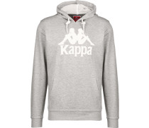 Sweatshirt 'Zimim' graumeliert / weiß