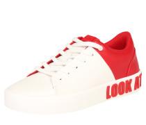 Sneaker 'abydia' rot / weiß