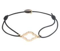 Armband 'Floris' gold / schwarz