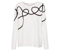 Pullover schwarz / offwhite