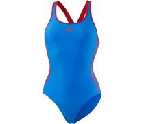'Hyper' Badeanzug blau / rot