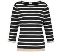 Pullover hellbeige / weiß