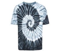 T-Shirt 'Spiral Tie Dye Pocket Tee'