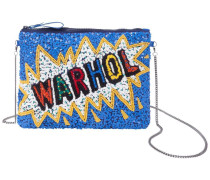 Clutch 'multi Warhol Bag' blau