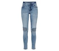 'Mid Skin' Skinny Jeans blue denim