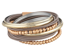 Armband 'Torence' gold / taupe