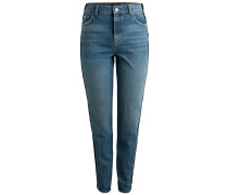 High Waist Jeans blue denim