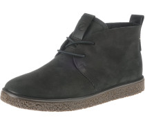 'Crepe Tray L' Ankle Boots schwarz