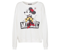 Sweatshirt 'Disney minnie mrs sweaty'