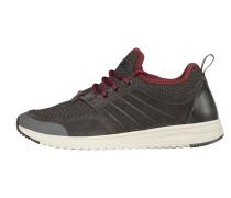 Sneaker graphit / weinrot