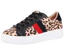 Sneaker schwarz / beige / rot