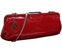 Auguri Damentasche Leder 34 cm rot