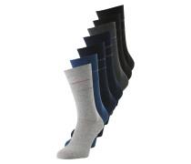 Socken navy / himmelblau / grau