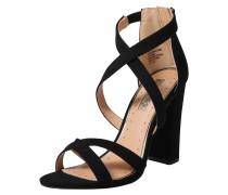 Sandale 'faun' schwarz