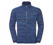 Fleecejacke 'Rienza Jacket II' blaumeliert