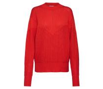 Pullover 'Akarine' orangerot
