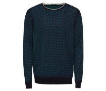 Pullover dunkelblau / grün