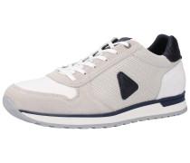 Sneaker beige / navy / weiß