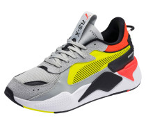 Sneaker 'rs-X Hard Drive' gelb / grau
