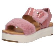 Sandalen 'Fluff Chella' rosa