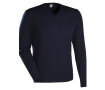 Pullover ' Slim Fit ' nachtblau