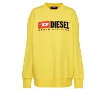Sweatshirt gelb / rot / schwarz