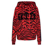 Sweatshirt 'Hoodie Zebra' orange