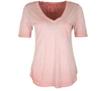 T-Shirt 'vneck Paillette' altrosa