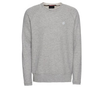 Sweatshirt 'Ams Blauw long sleeve in light sweat and cut off details'