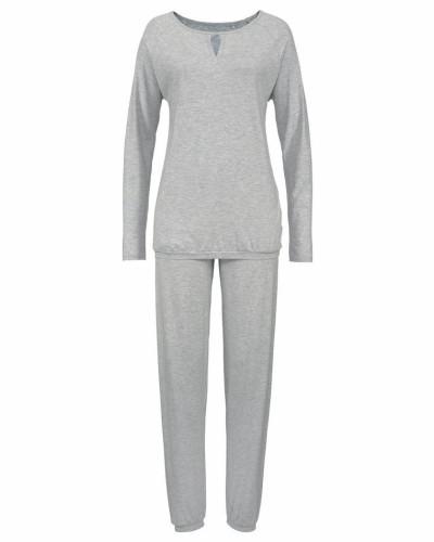 Pyjama 'Ella' graumeliert