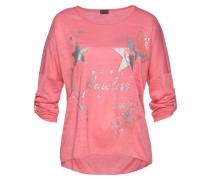 Shirt pink / silber