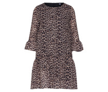 Kleid 'wild Child' creme / braun