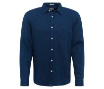 Hemd 'LS 1Pkt Shirt' blue denim