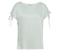 T-Shirt mint / weiß