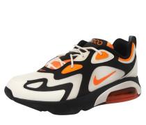 Sneaker 'Air Max 200' schwarz / beige / rot