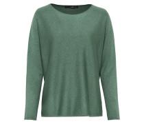 Oversize-Pullover grün