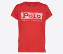 T-Shirt 'polo Prd' orangerot