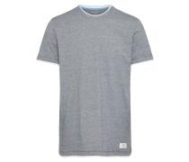 Casual T-Shirt graumeliert