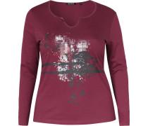Shirt rotviolett