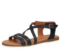 Sandale 'mila' schwarz