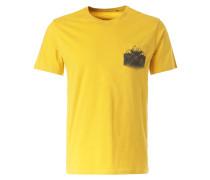 T-Shirt 'Debo' gelb