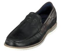Sportliche Slipper schwarz